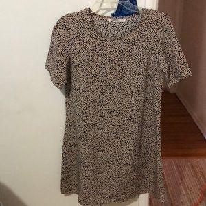 ASOS PETITE size 4 cheetah print dress NWOT
